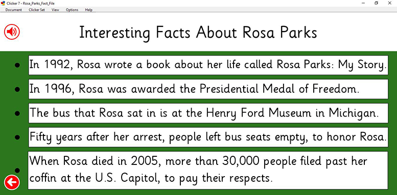 Rosa Parks - Interesting Facts