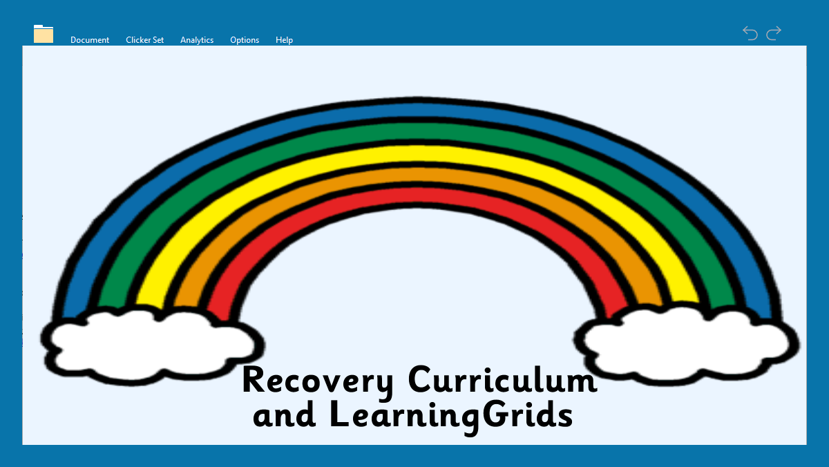 Recover Curriculum and LearningGrids - header