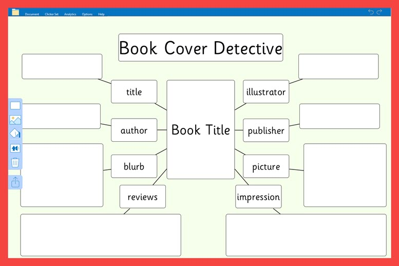 Book cover detective