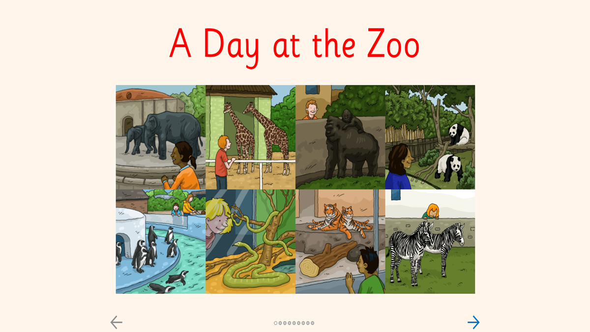 Zoo time header