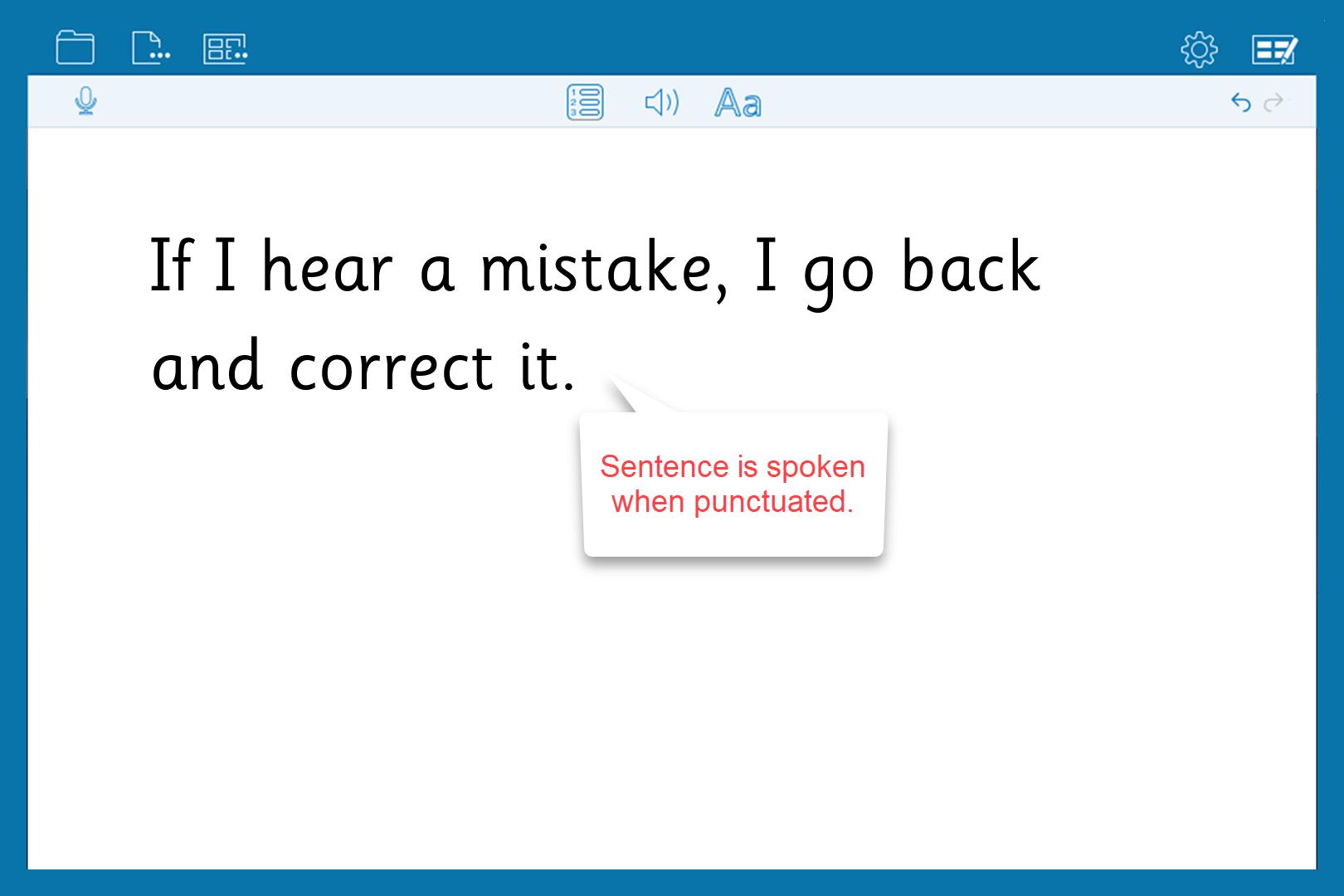 01 - Speech Feedback