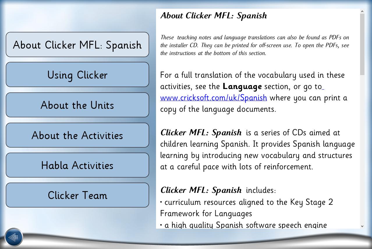 07 Spanish teaching notes